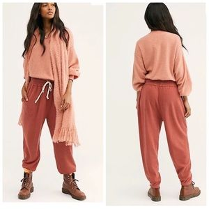 nwt // free people slouch jogger